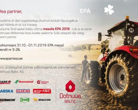 Kohtume EPA 2019 messil